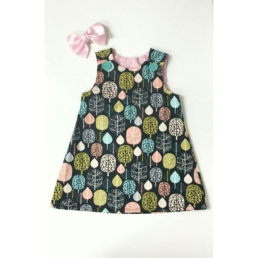 Forest Dress by Loopsybaby #babydress #girls #loopsybaby