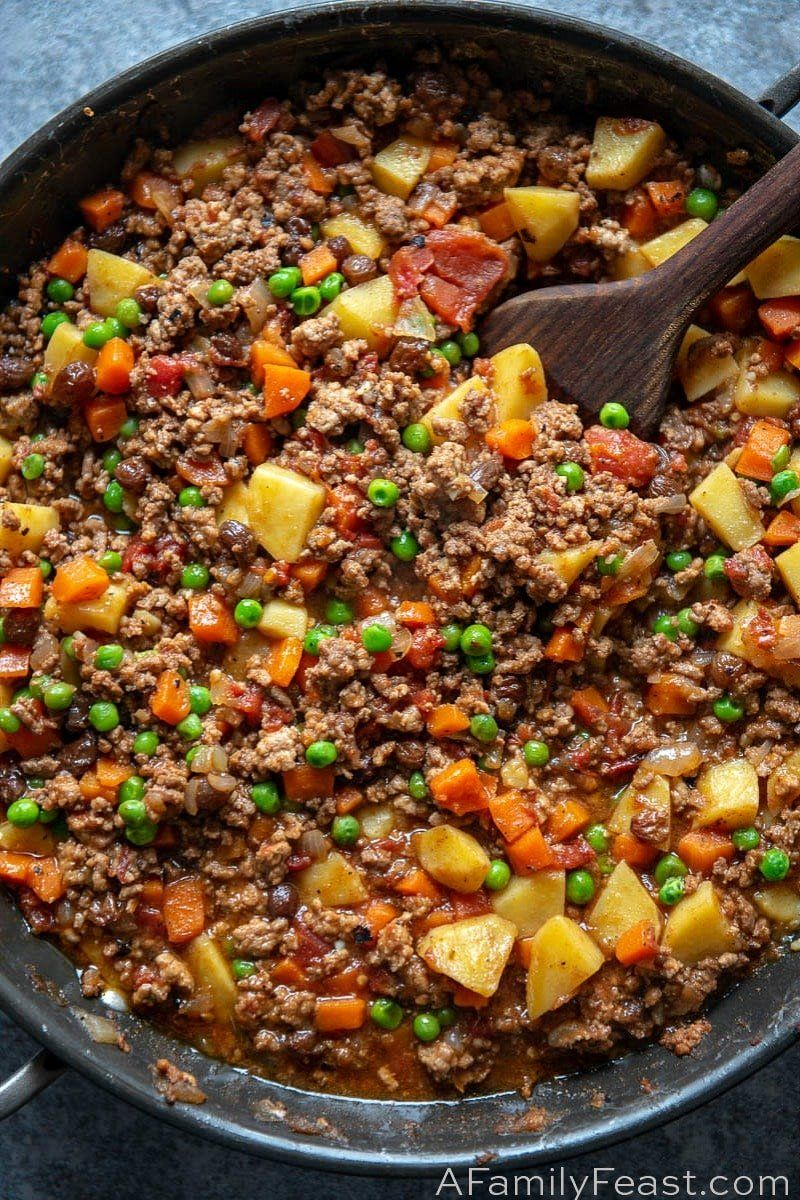 Filipino Picadillo Recipe Picadillo Recipe Pork Pochero Recipe Ground Beef Recipes