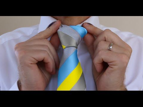 How to tie a tie windsor aka full windsor or double windsor how to tie a tie windsor aka full windsor or double windsor for beginners youtube ccuart Image collections