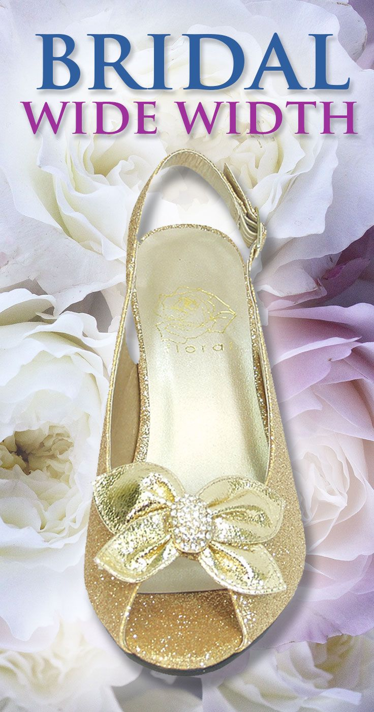Wide Width Bridal Shoes For Mother Of The Bride Bridesmaids