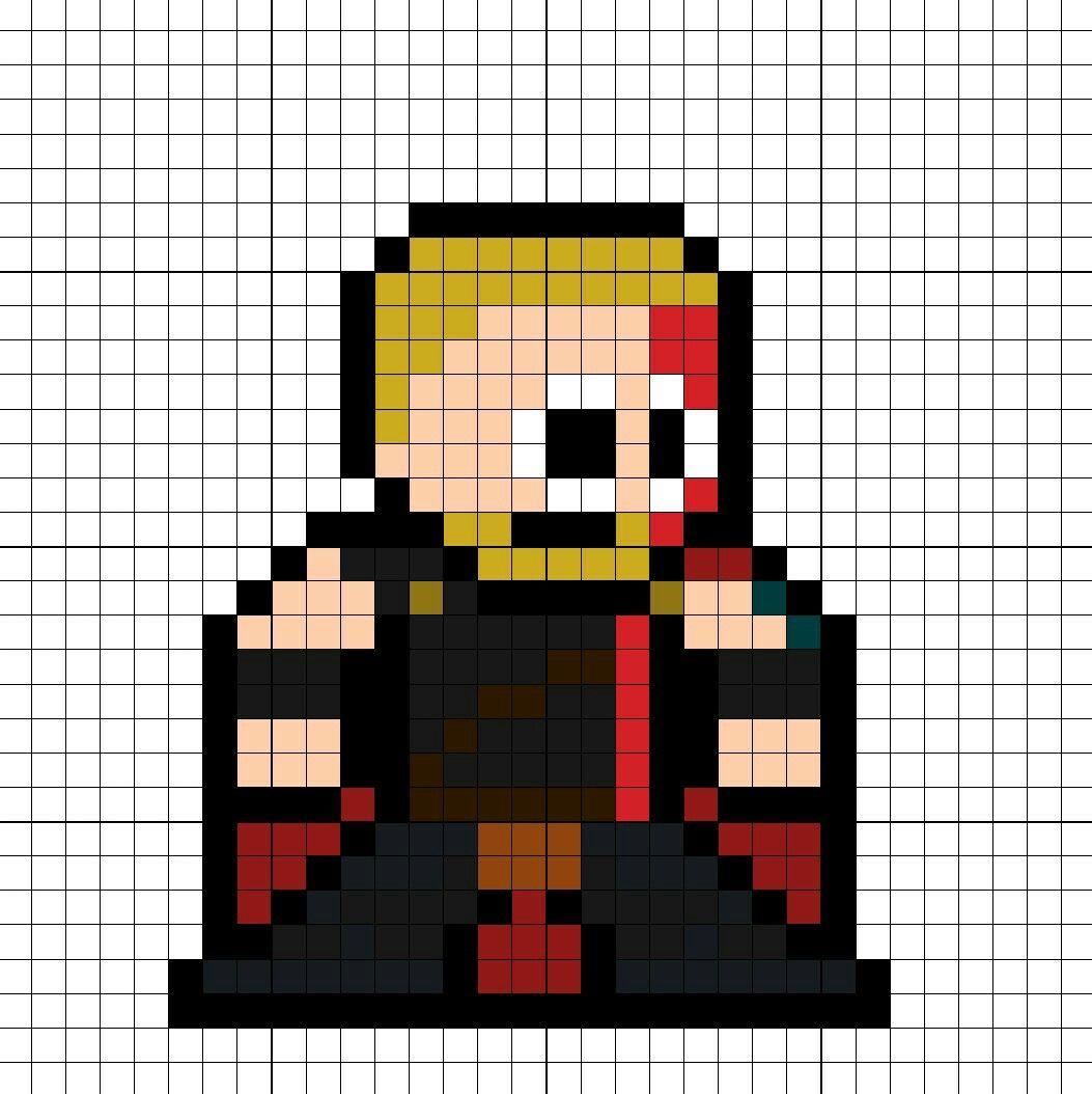 Thor Ragnarok Perler Bead Pattern | Perler Marvel Universe ...