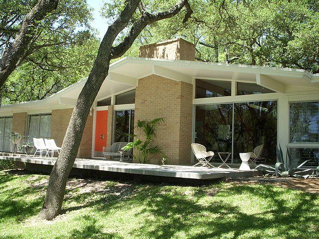 Front | Austin texas, Mid-century modern and Mid century