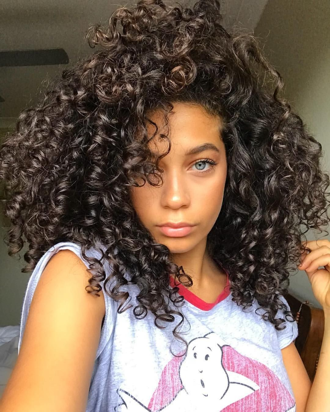 The Best Of Devacurl Curly Girl Hairstyles Beautiful Curly Hair Natural Hair Styles