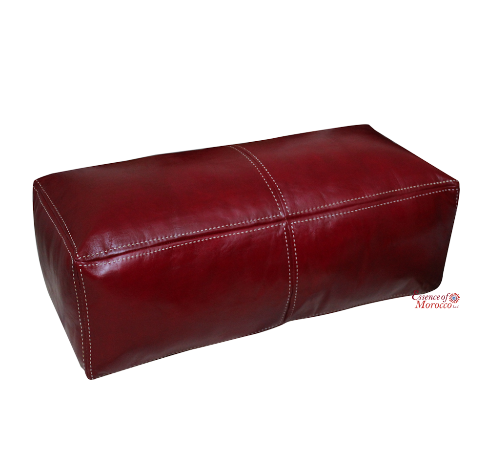 Moroccan Pouf Ottoman Double Seater STUFFED in the UK ...