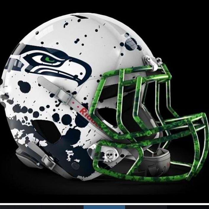 Seattle Seahawks Seahawks Football Cool Football Helmets