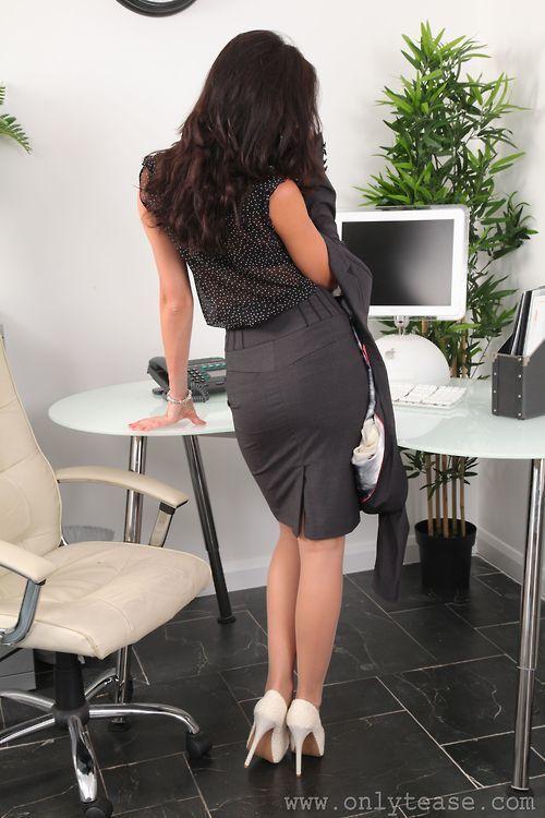 Pinterest hot seductive office secretary criticising write