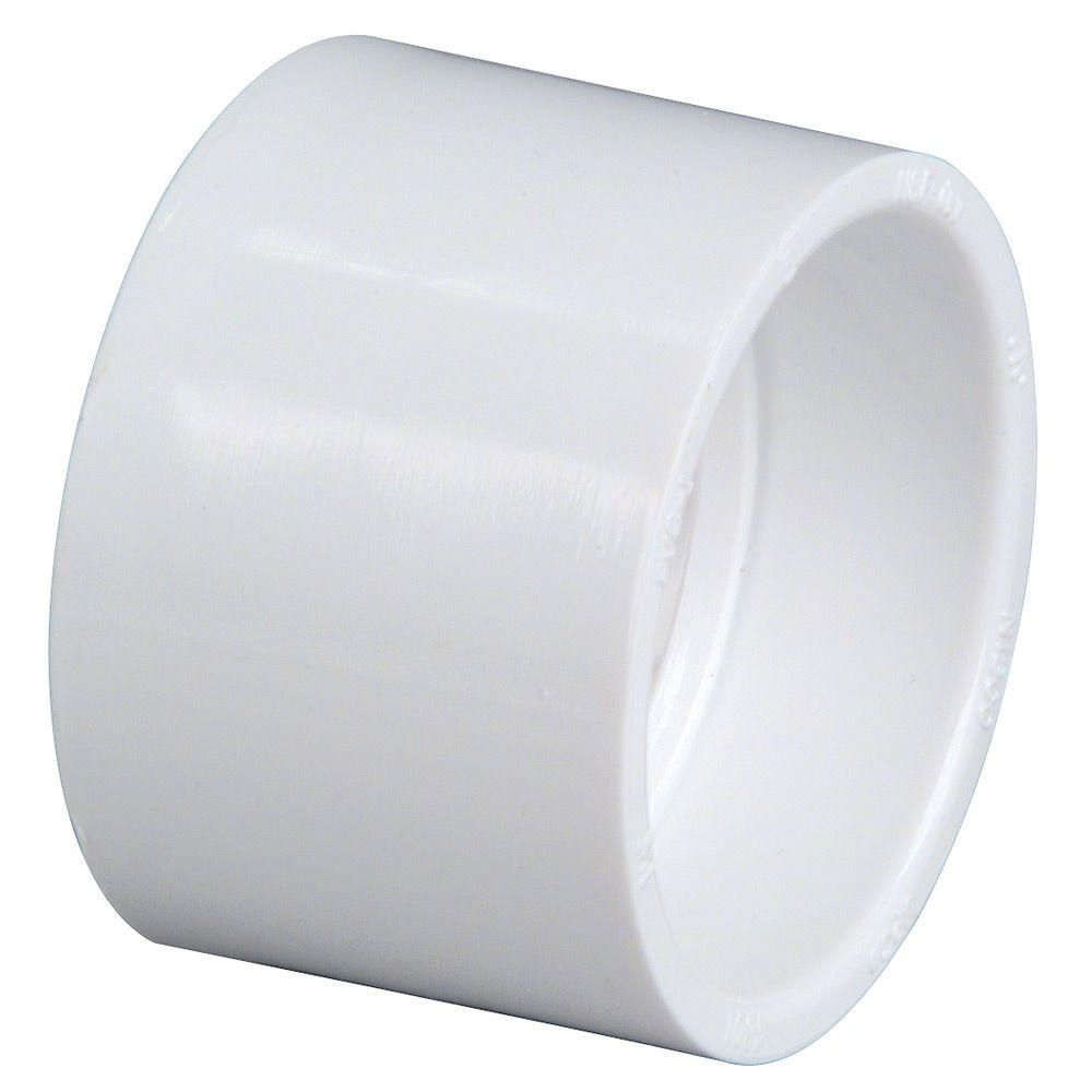 Nibco 4 In Pvc Dwv Hub X Hub Coupling Fitting C4801hd4 The Home Depot Pvc Coupling Pvc Fittings Pvc