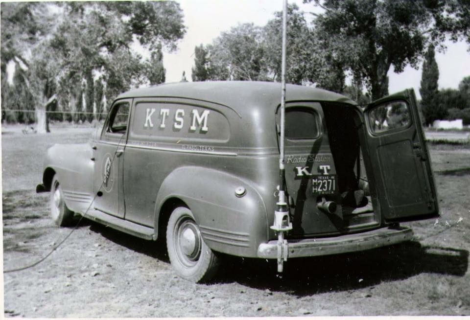 Ktsm Mobile Radio Van Circa 1940 Chevrolet Trucks El Paso