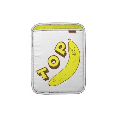 Funny Office Boss Top Banana Rickshaw iPad Sleeve #boss #zazzle #jamiecreates1 #work