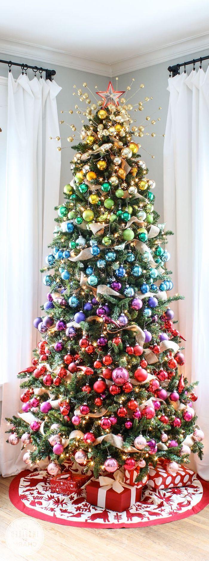 ▷ 1001 + Ideen, wie Sie Ihren Weihnachtsbaum schmücken wie ein Profi