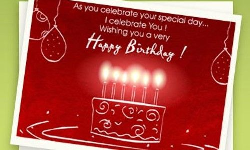 Free Electronic Cards For Birthday My Birthday Pinterest