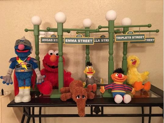 Sesame street lamp post sesame street party sesame street sesame street lamp post sesame street party sesame street centerpiece sesame street party props aloadofball Choice Image