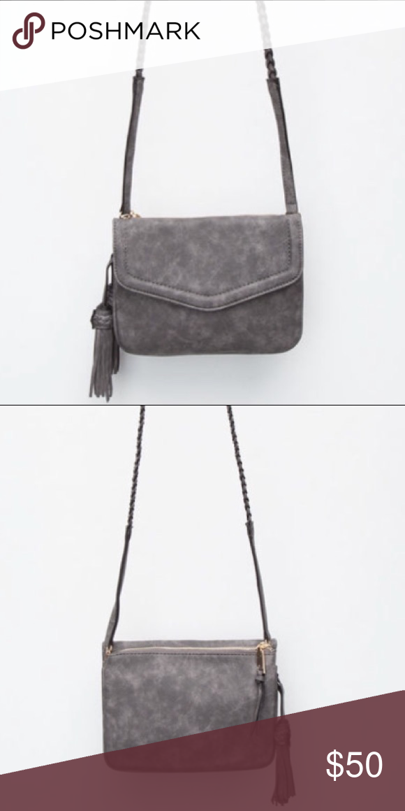 559e8a21d964 Free People Anette Crossbody Bag Free People line Violet Ray Anette faux  leather crossbody bag.