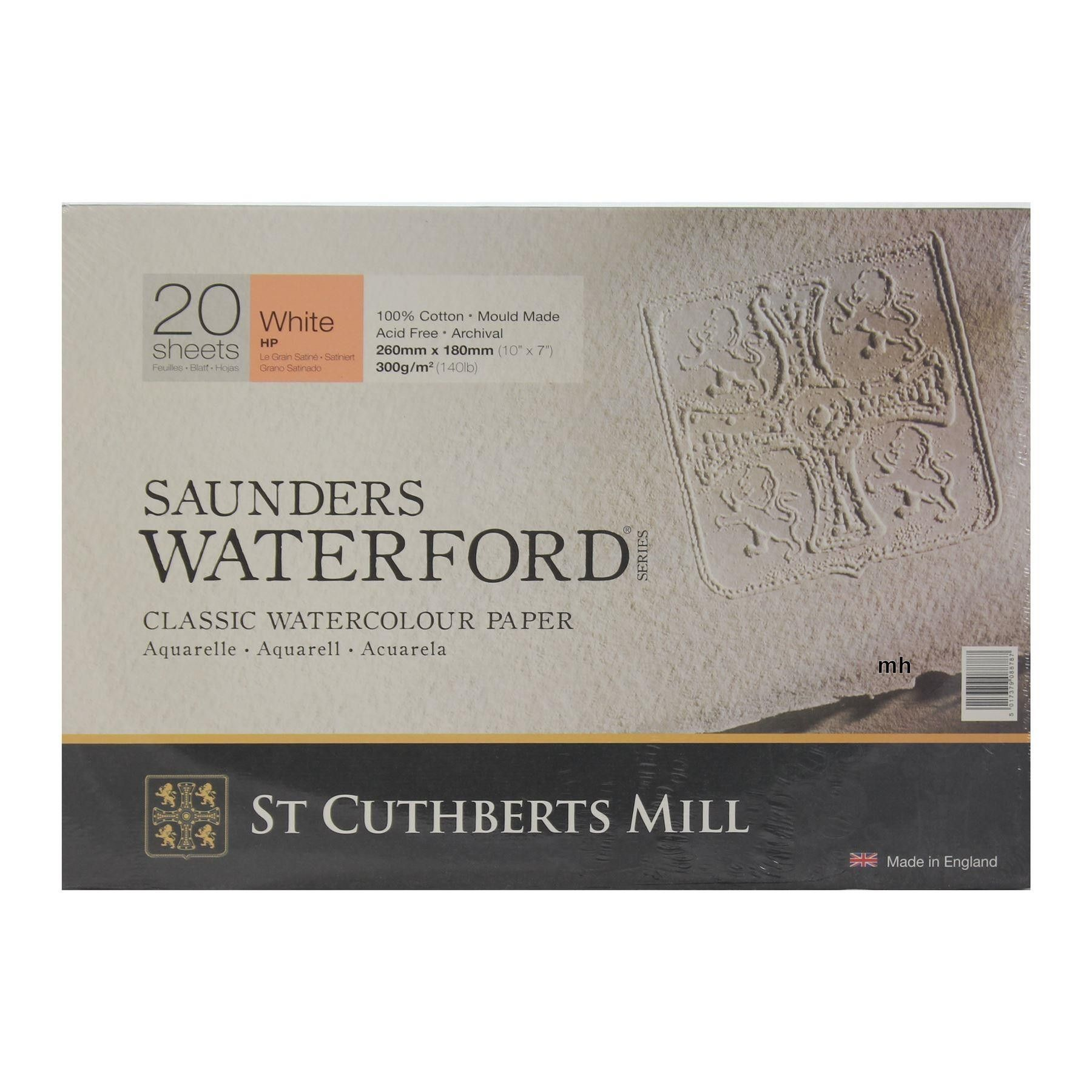 Saunders Waterford Hot Press Classic Watercolour Paper Blocks