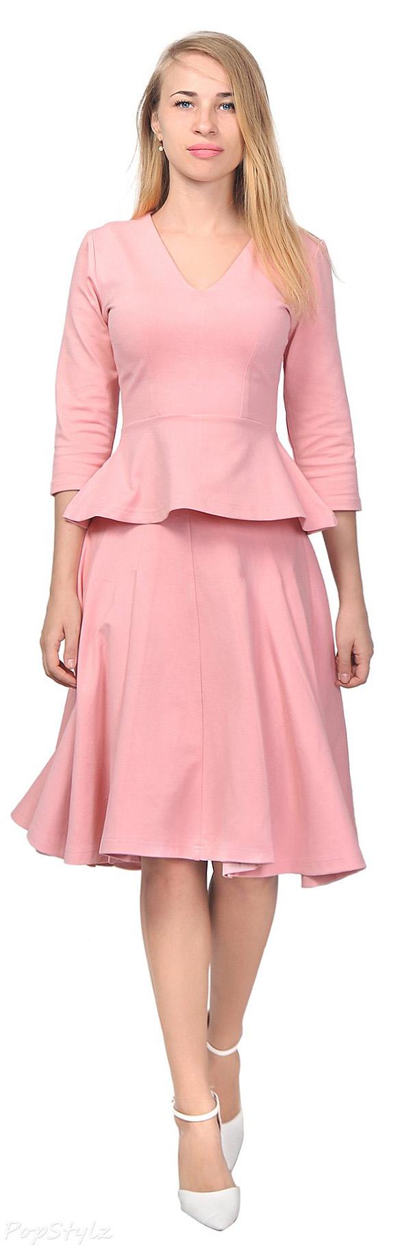 Pretty Peplum Shirt Top Suit | clothing | Pinterest | Ropa