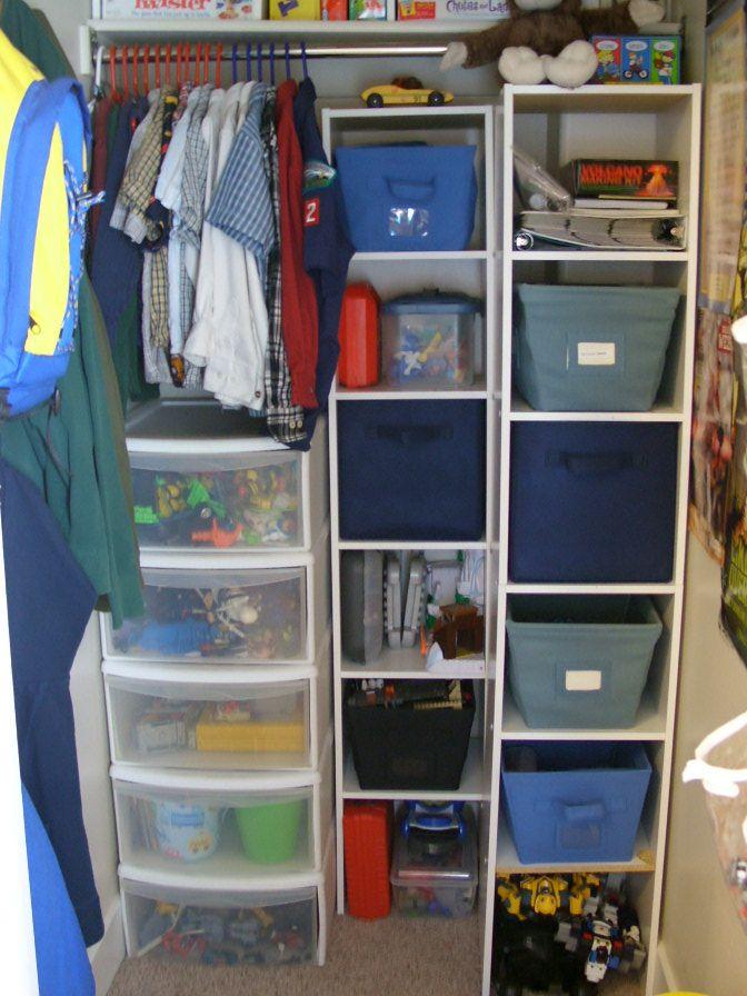 Organized Boys' Bedroom | Organize & Decorate | Organize ...