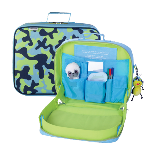 Kids Travel Bag A Review Of Traykit Suitcases And Sippy Cups