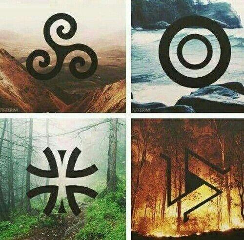 Vier Elementen Pinteres