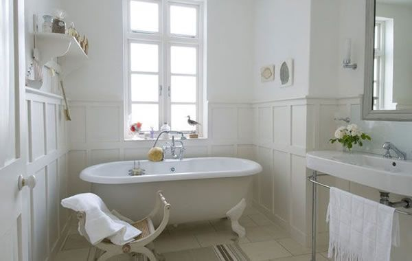 Bagno Francese ~ French style bathrooms idee per un bagno total whiteu total