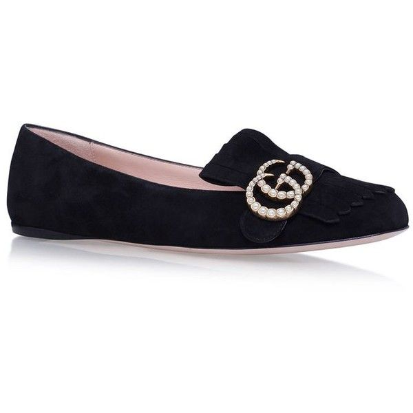 Gucci Marmont Ballet Pumps (4,165 CNY