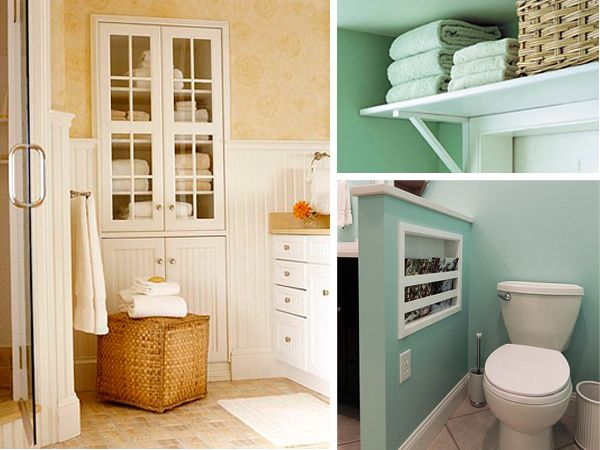 Bathroom Storage Ideas Pinterest Gorgeous 14 Clever Bathroom Storage Ideasthere's No Such Thing As Too Design Decoration
