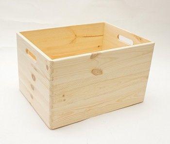 Holzkiste Holzbox Kiefer 40 X 30 X 24 Cm Bild 1 Kiste Holz