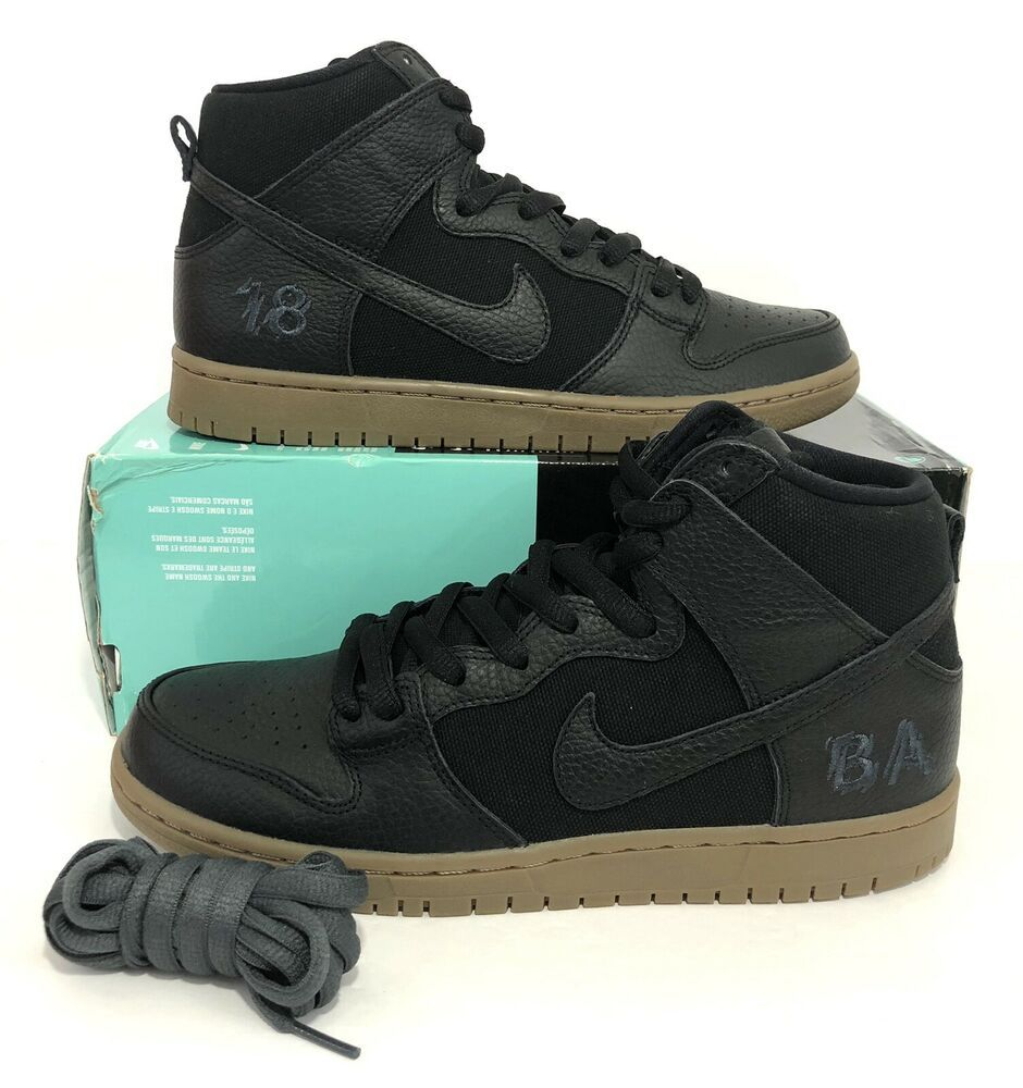 Nike SB Zoom Dunk High Pro QS Brian Anderson Anti Hero Black