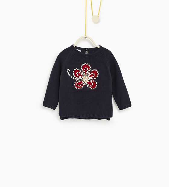 Image 1 of Floral sweater from Zara