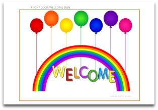 Rainbow Party Decorations Fun DIY Parties and Themes at http