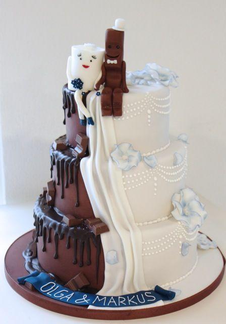 Hochzeitstorten kinderriegel #hochzeitstorten Die