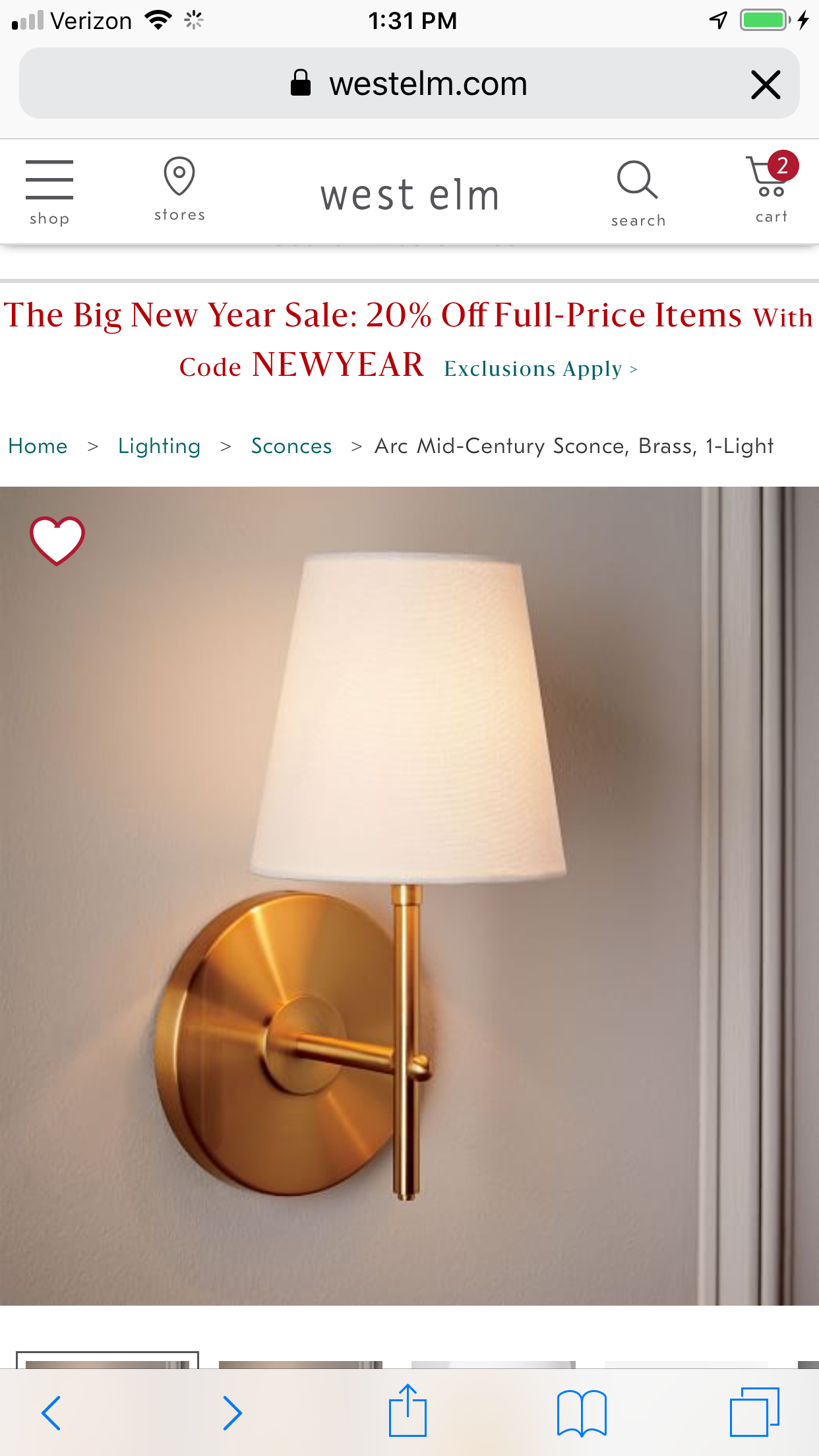 Pin by Jenny Esterbrook on GIRLS ROOM | Mid century sconce ...