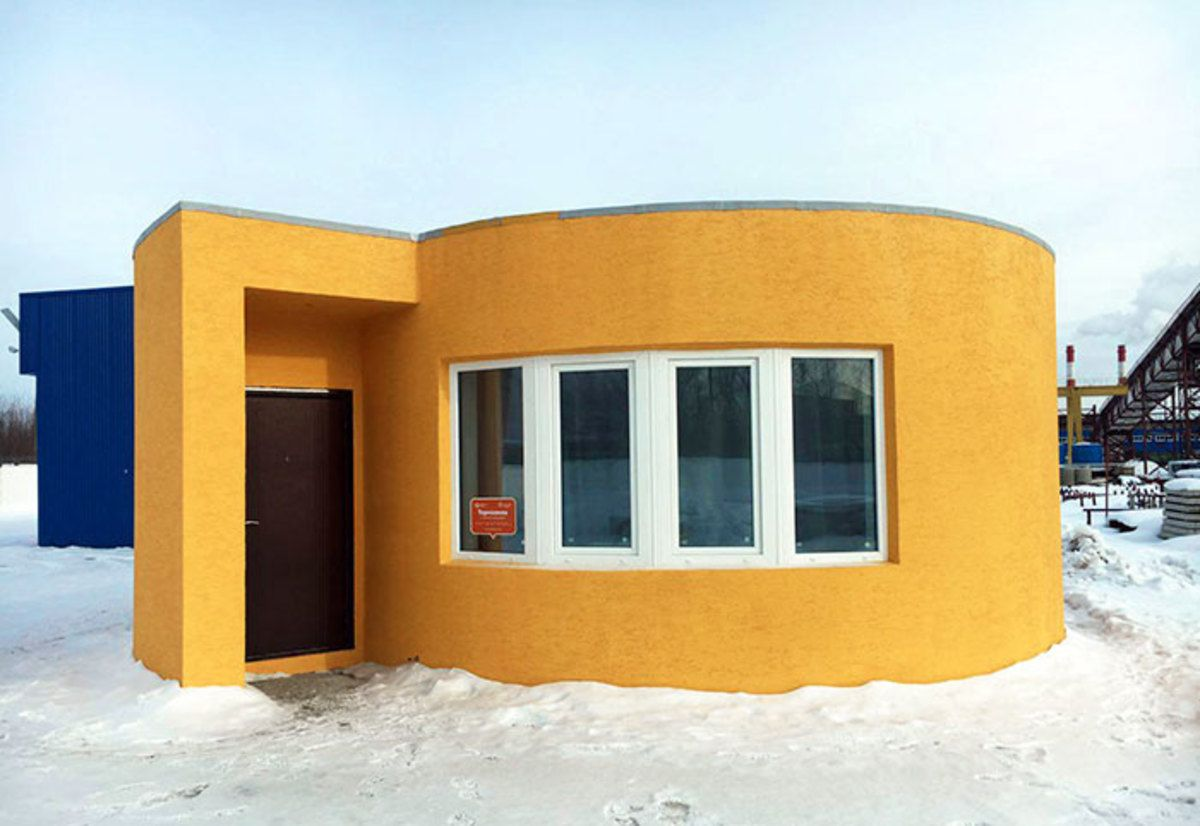 This Remarkable House Was 3d Printed And Only Cost 11 000 To Build 3d Printed House Building A Tiny House House Cost