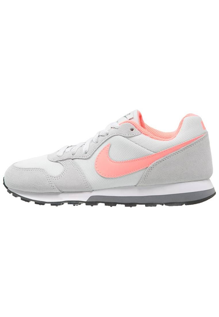 MD RUNNER - Sneakers laag - pure platinum/lava glow/cool grey/white/black @  Zalando.be  <div class=
