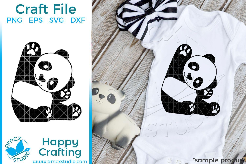 Baby Panda SVG | Baby panda, Panda, Svg