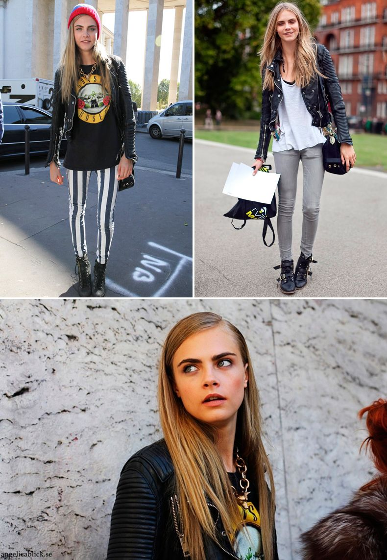 Cara Delevingne Casual Style - Out in London, December