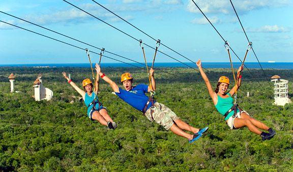 Xplor Park All Inclusive Adventure Cancun Adventure Tours Ziplining Adventure Tours Adventure Park
