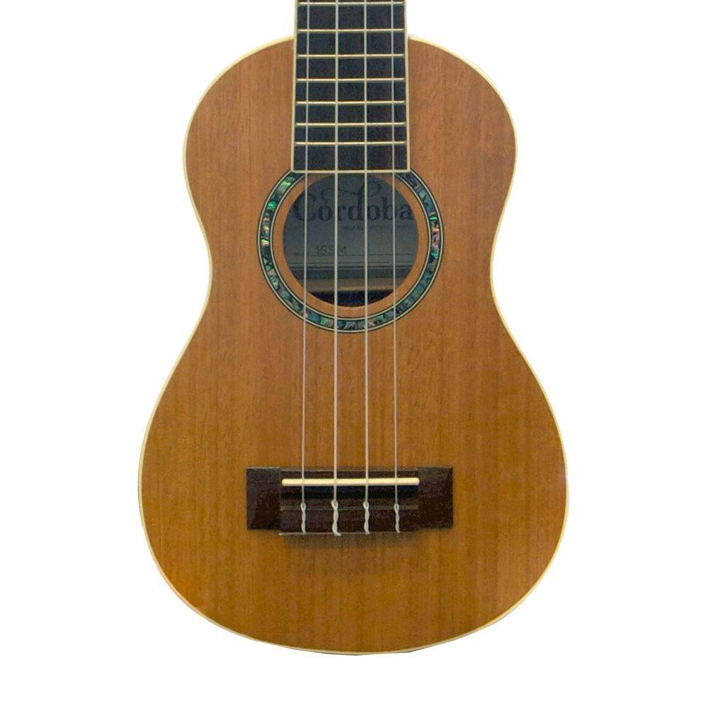 Cordoba 15sm Soprano Ukulele Semi Acoustic Guitar Ukulele Guitar Lessons Songs