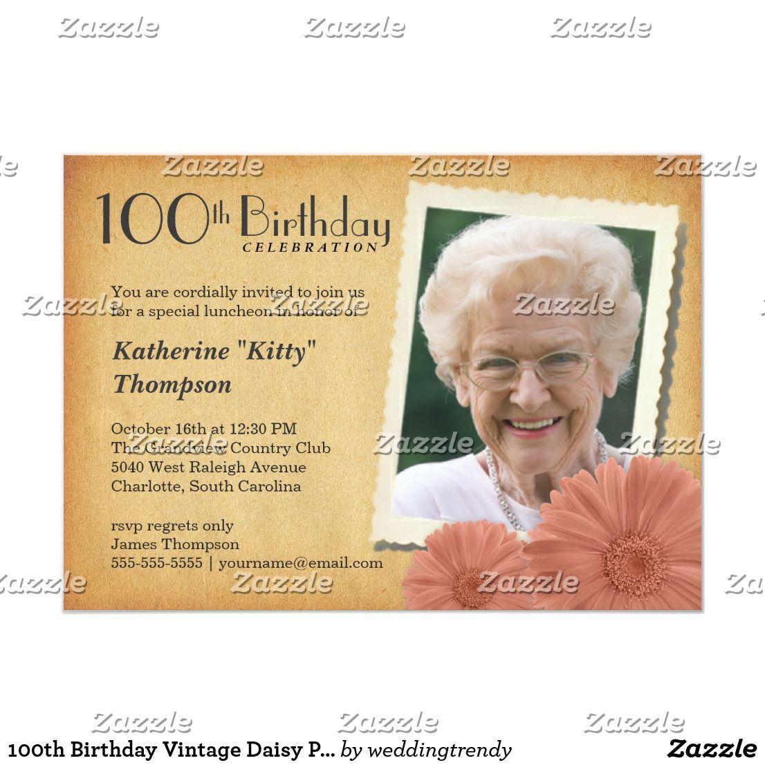 Pin On Granny S 100th Birthday