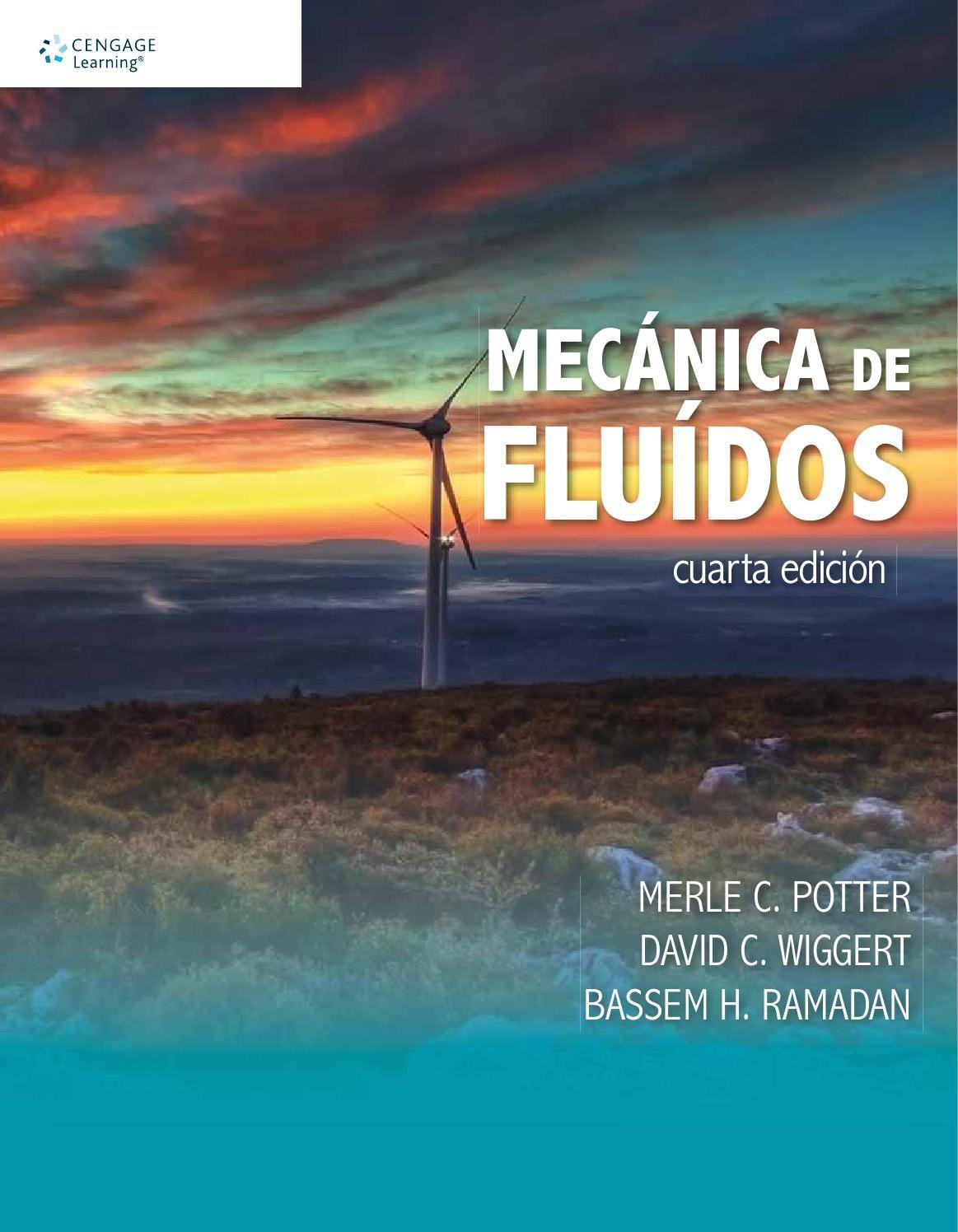Mecánica De Fluidos 4a Ed Merle C Potter Et Al Mecanica De Fluidos Libros De Calculo Todo Fluye