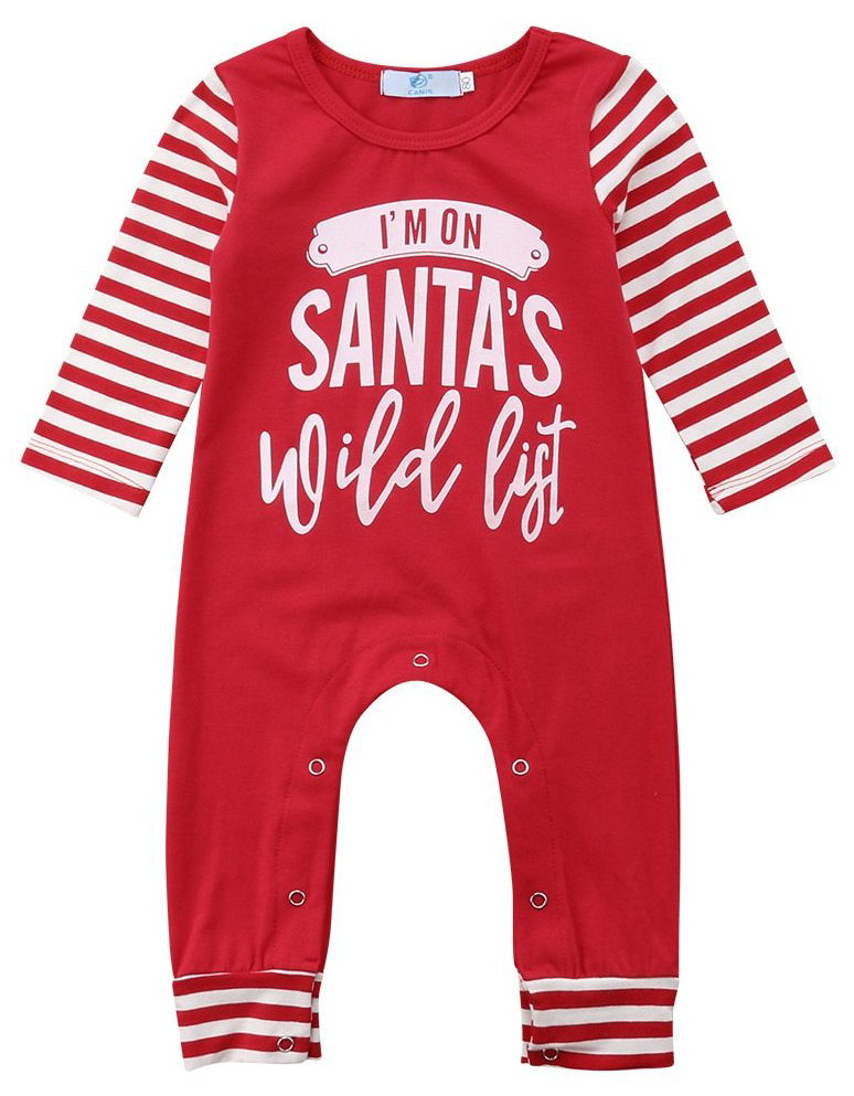 d14dff8b7a8f Santa s Wild List Jumpsuit