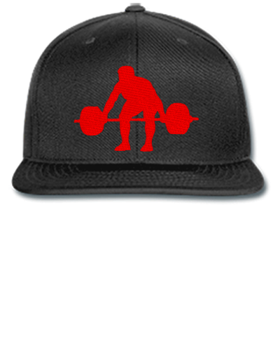 WEIGHT LIFTER Embroidery - Snapback Hat