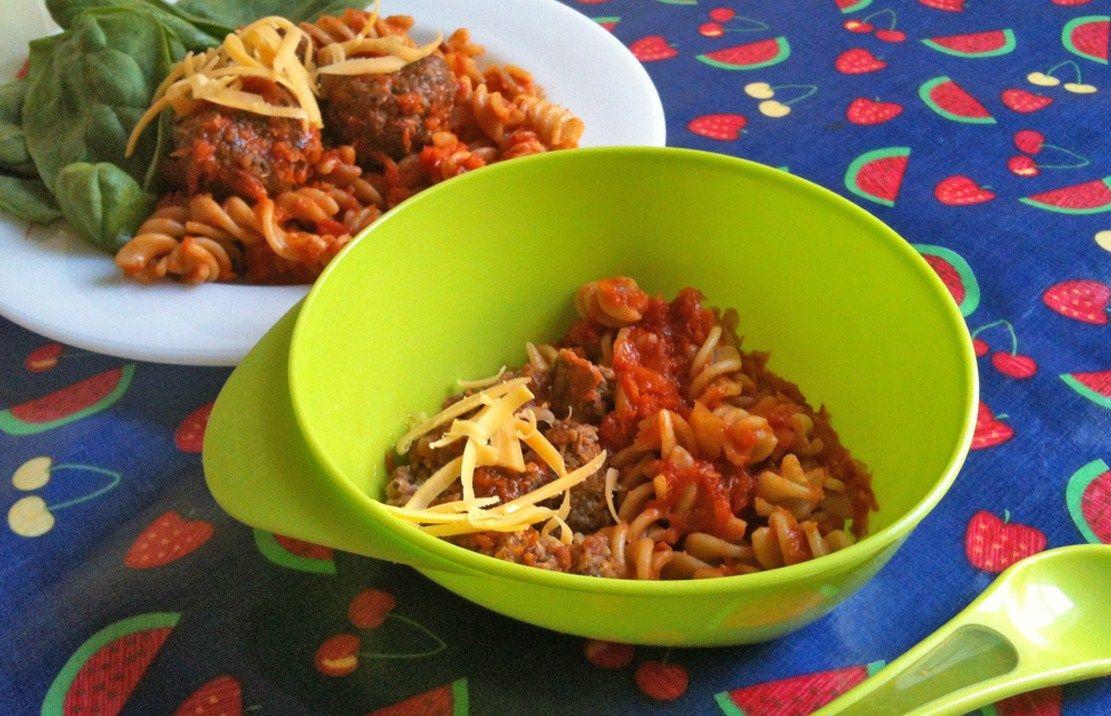 Mini beef meatballs | Baby food recipes, Pasta recipes for ...