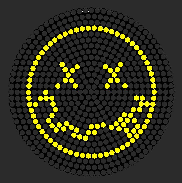 Nirvana Logo Perler Bead Pattern Bead Sprite Perler