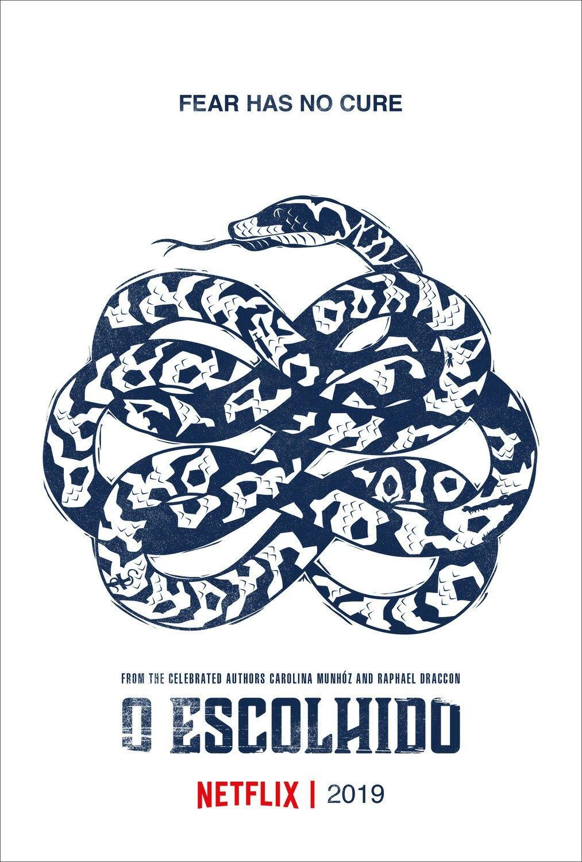 The poster for the new brazilian Netflix series O ESCOLHIDO