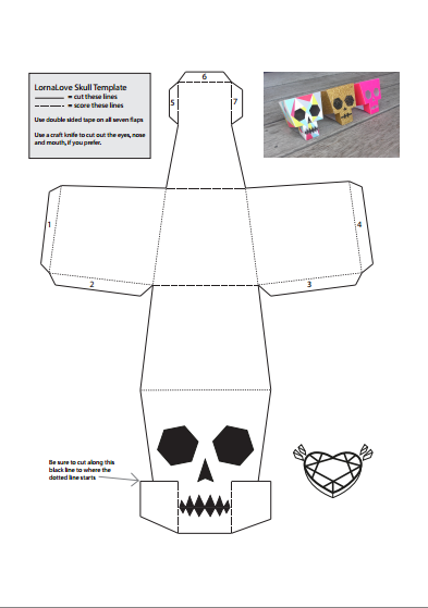 Printable Customizable Skulls Halloween 1 Halloween Crafts Paper Toys Template Halloween Activities For Kids