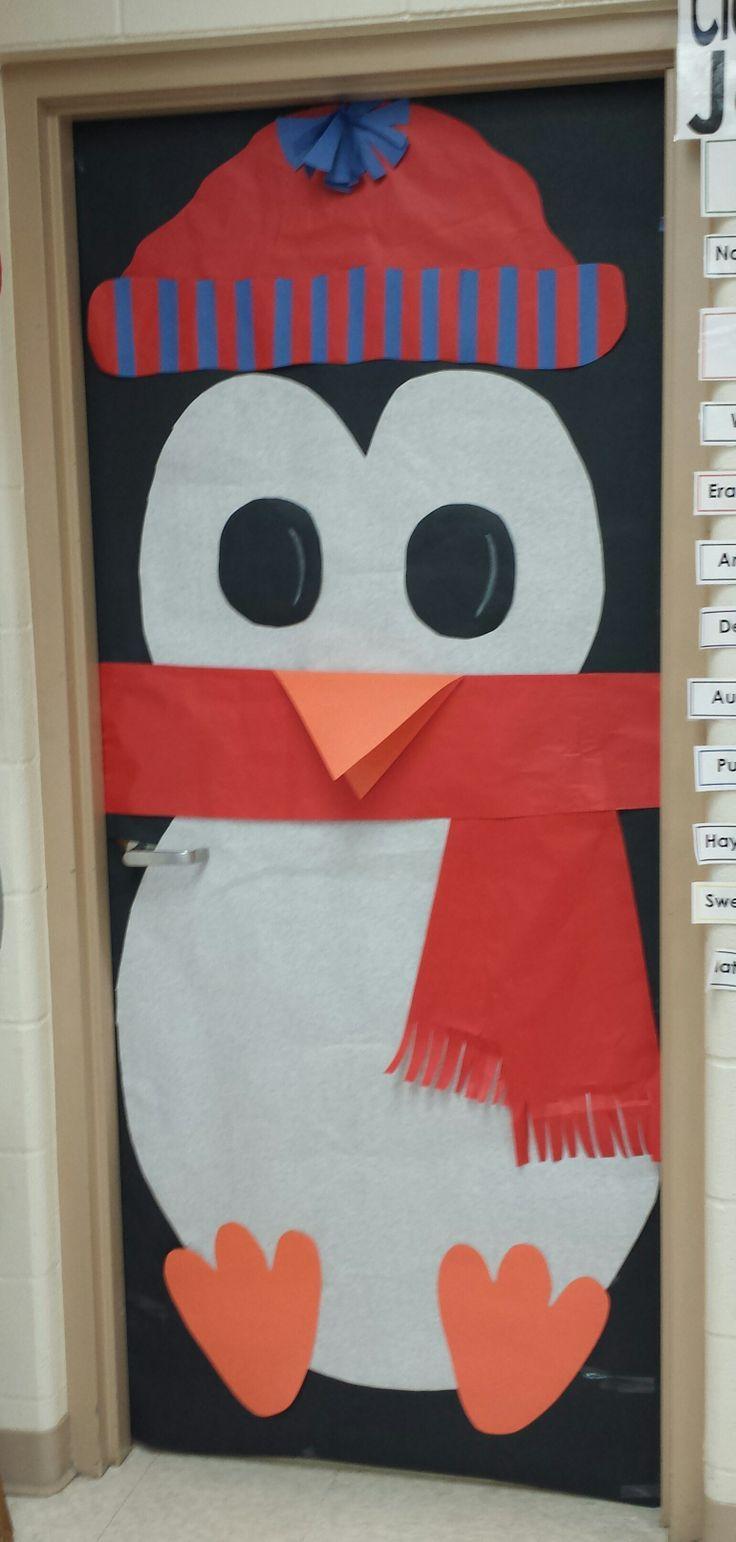 Classroom Door Decoration Penguin Image Only