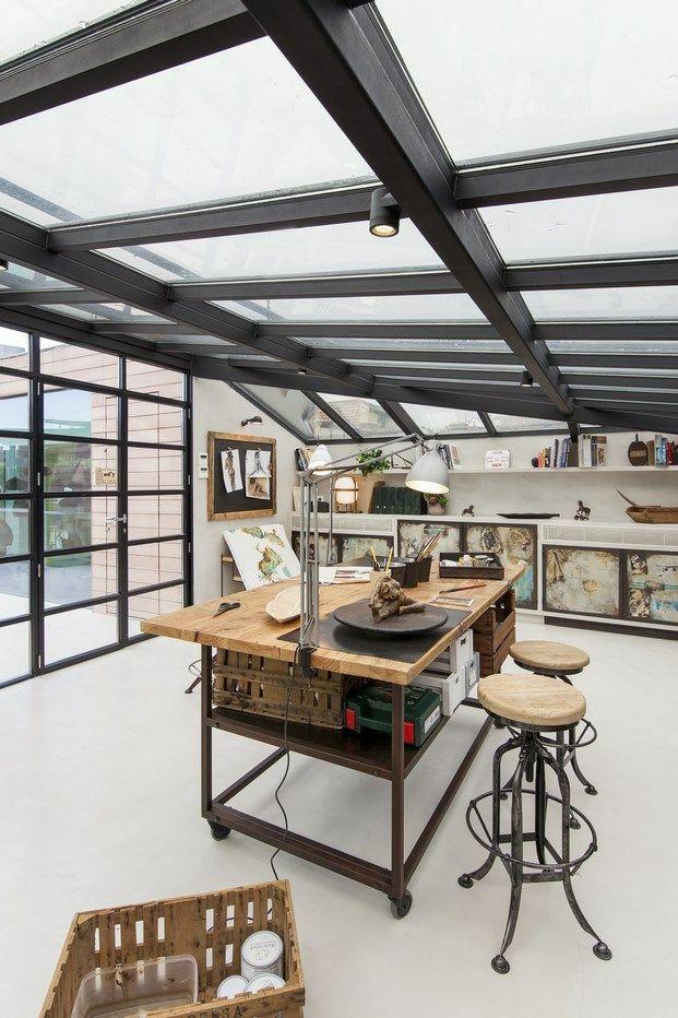 Conservatory Room Addition In The Uk 1040x1485 In 2020: Дизайн мастерской, Интерьер, Дизайн интерьера