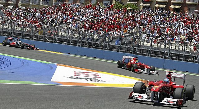 Según los jefes de equipo, Alonso fue el mejor piloto de 2012.
