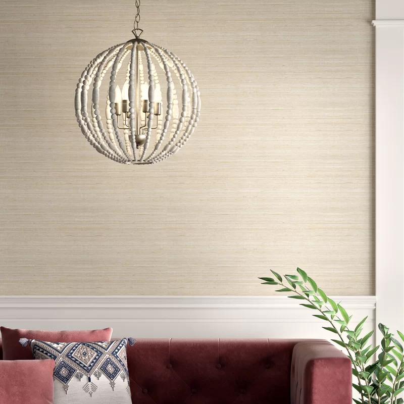 "Clément 24' x 36"" Fine Sisal Wallpaper Wall coverings"