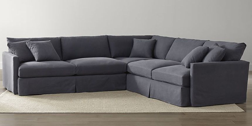 Denim Sectional Sofa Jcpenney